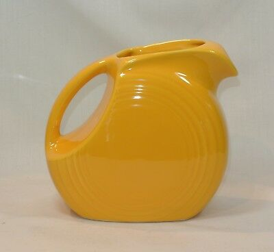 Vintage FIESTA Yellow Disk JUICE PITCHER Homer Laughlin