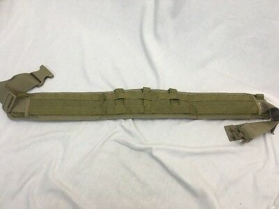 Eagle Industries Operator Gun Belt Padded Large Khaki SEALs SFLCS