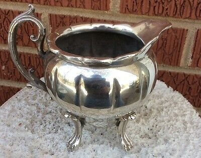 antique Middletown Plate Co. Silver Plate CREAMER