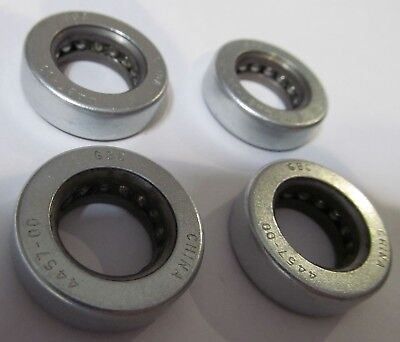 "4 NEW GBC 4457-00 THRUST BALL ROLLER BEARINGS 5/8"" ID x 1-1/8"" OD x 11/32"" WIDE"