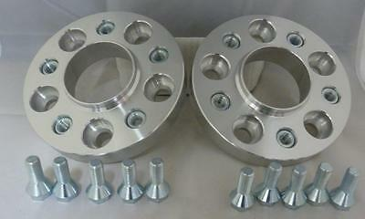 Audi S5 2007 On 20mm Alloy Hubcentric Wheel Spacers 5x112 66.6 1 pair