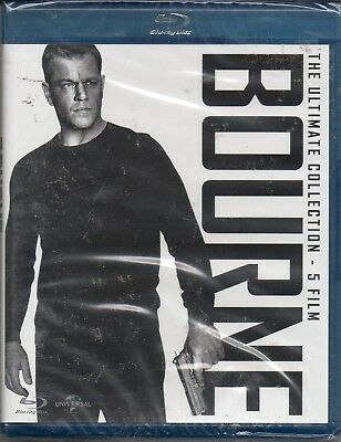 Bourne - the ultimate collection 5 film - blu-ray - nuovo