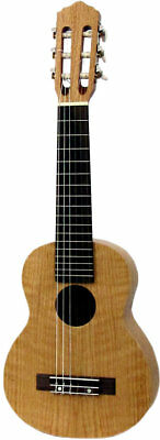 Ashbury 6-string GUITARRITA, Flamed Oak. Play Guitar Music on your Uke!