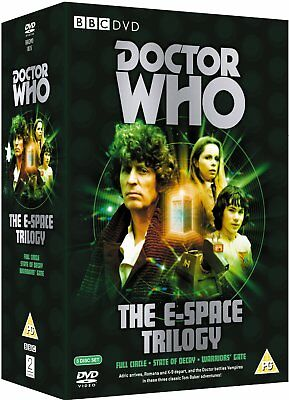 Doctor Who Space Trilogy Full Circle State Of Decay Warriors Gate Dvd New