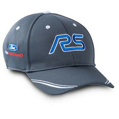 Hat Gray With Blue Focus RS And Ford Performance Logos