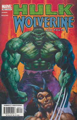 Hulk/Wolverine: Six Hours #3 VF; Marvel | save on shipping - details inside