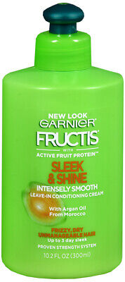 Garnier Fructis Sleek & Shine Intensely Smooth Leave-In Conditioning Cream 10oz