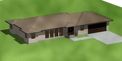 3D Color Drawing Of Your  Home Design Based On Your Floor Plan Sketch