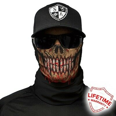 MOTORCYCLE FACE MASK - THE MONSTER - (Moto, Hunting, Fishing, Paintball)