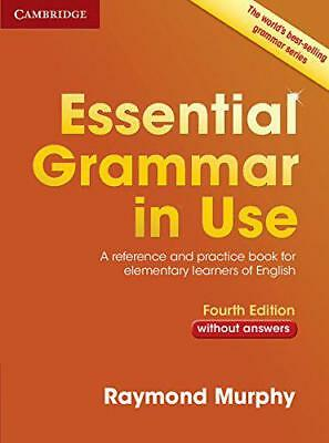Essential Grammar in Use without Answers by Murphy, Raymond, NEW Book, (Paperbac