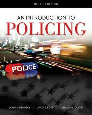 Introduction to Policing by John S. Dempsey (English) Paperback Book Free Shippi