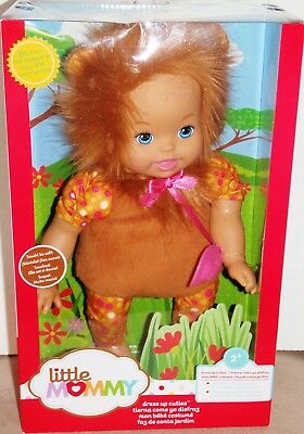 Little Mommy Dress Up Cuties Lion Doll/NEW/MINT IN BOX/ BLW15