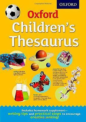 Oxford Children's Thesaurus by  | Hardcover Book | 9780192744029 | NEW