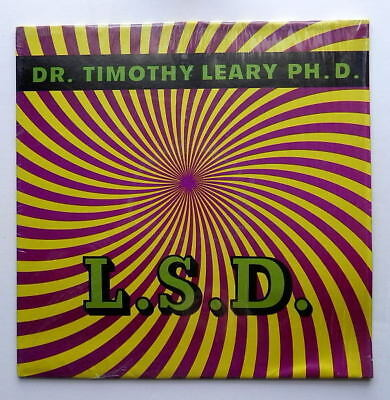 TIMOTHY LEARY PHD LSD PIXIE RECORDS MONO CA 1069 nM+ 60s CEREBRAL DRUG CULTURE