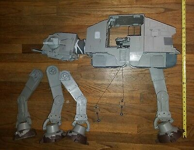 Star Wars At-At HUGE Walker Toy Hasbro 2010 Legacy Works Near Complete Legs