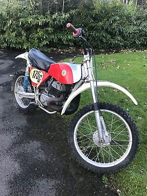 1975 Bultaco Pursang 360 Mk8 twinshock motocross barn find project classic bike