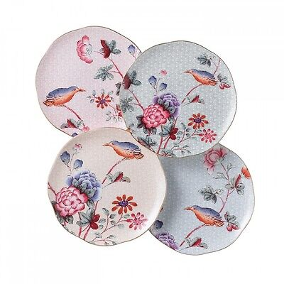 Wedgwood Cuckoo Tea Story Accent Plates, Set of 4
