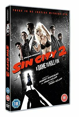 Sin City 2  'A Dame to Kill For' With Outer Card Sleeve  Brand New  DVD
