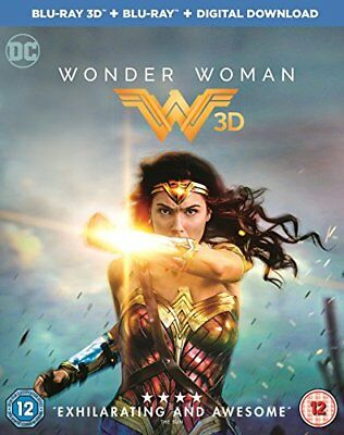 Wonder Woman [Blu-ray 3D + Blu-ray + Digital Download] [2017] [Reg... -  CD HLVG