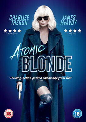 Atomic Blonde DVD (2017) Charlize Theron, Leitch (DIR) cert 15 Amazing Value