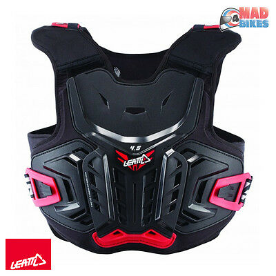 Leatt Junior MX Motocross Armour - Kids Chest Protector 4.5 Roost Protection S/M