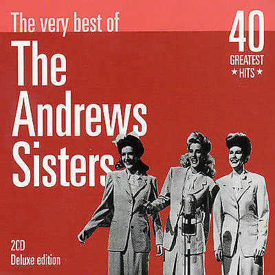 The Andrews Sisters : Very Best of [spanish Import] CD (2001)