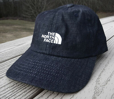 "NWT THE NORTH FACE ""The Norm"" Adjustable Adult Hat-OSFM Ret@$22 INDIGO CHAMBRAY"