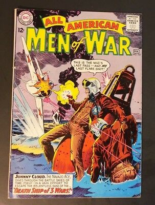 """All American Men of War #101 """"F/VF"""" -DC- GORGEOUS!"""