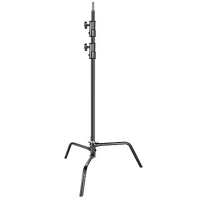 Neewer Heavy Duty Light Stand with Detachable Base 5-10 feet Adjustable C Stand