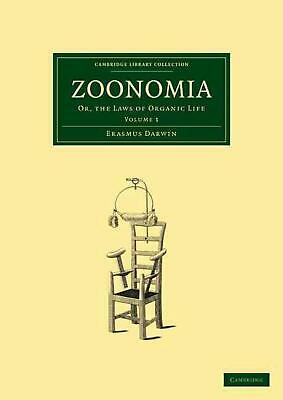 Zoonomia 2 Volume Paperback Set: Or, the Laws of Organic Life by Erasmus Darwin