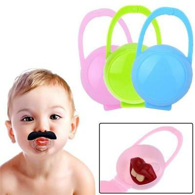 1/3pcs Baby Pacifier Storage Box Infant Soother Holder Dummy Travel Case Gift LC
