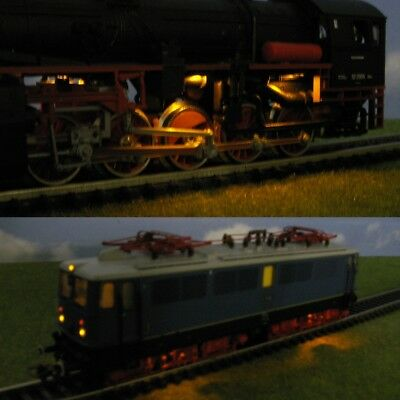 S562 - anfahr- and triebwerksbeleuchtung LED 0805 for Steam Locomotives Electric
