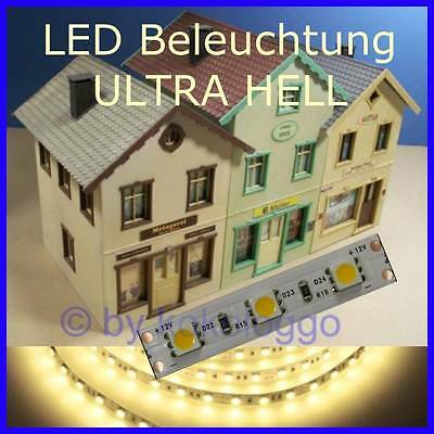 S461 - LED Lighting 50cm Warm White Ultra Light For Large Scale Railway G 1 0