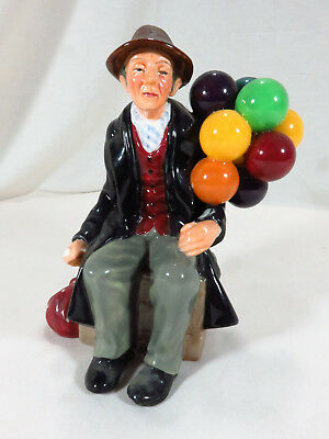 """Royal Doulton """"The Balloon Man"""" Hand Painted Figurine HN1954 Mint Condition"""