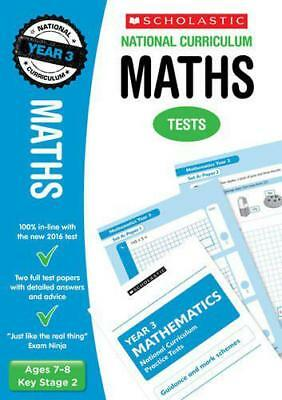 Maths Test - Year 3 (National Curriculum Tests) by Ann Montague-Smith | Paperbac