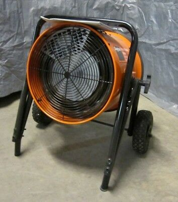 Electric Salamander Heater Fan Forced Non-Oscillating 240V 14300W 51180BtuH NEW