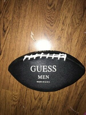 Vintage 1990s Guess USA Made Football Promotional Advertising Spell Out Logo