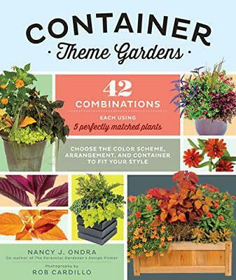 Container Theme Gardens by Ondra, J., Nancy   Paperback Book   9781612123981   N