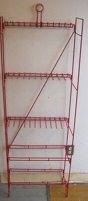 "Store Display Fixtures 6 NEW 59"" TALL FLOOR MODEL PEGHOOK RACKS"