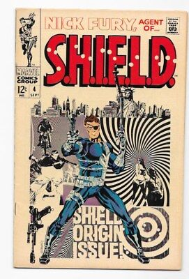 Nick Fury Agent of Shield #4 Mid-High Grade !
