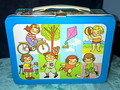 Vintage ~ Campbells ~ Metal Lunchbox ~ Great Condition