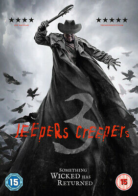 Jeepers Creepers 3 DVD (2018) Stan Shaw, Salva (DIR) cert 18 Fast and FREE P & P