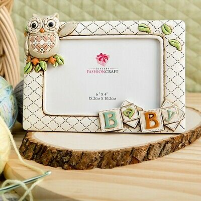 Baby Theme Picture Frame 3-D Owl Picture Frame Gifts for Baby