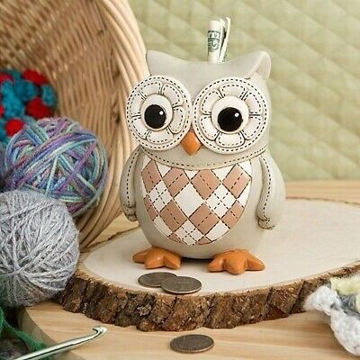 Owl Piggy Bank Hand Painted Money Bank Gift Baby Gifts