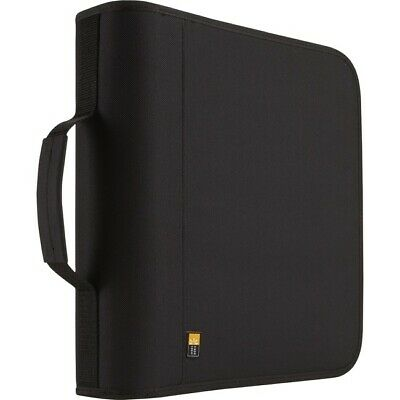 Case Logic BNB-208 Optical Disc Case - Binder - Nylon - Black - 208 CD/DVD