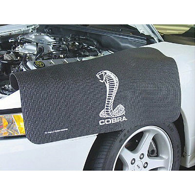 Fender Gripper FG2122 Mustang Fender Cover Black With Cobra Snake Logo