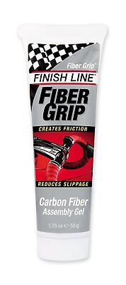 Finish Line Bike Lube Fiber Grip Carbon Fiber Bicycle Assembly Gel 1.75Ounce New