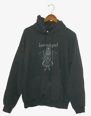 LAMB Of GOD Hoodie Sweatshirt STURM DRANG Vtg 2015 Band Tour Shirt NEW : Lg