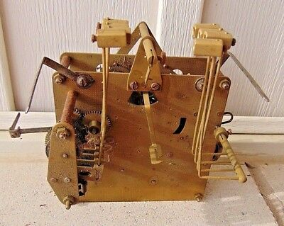 """Hermle Westminster Chime Grandfather Clock Movement, 451-050 H 94cm """"80"""""""