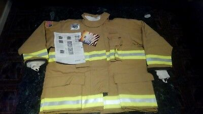 New With Tags Honeywell Morning Pride Firefighter'sTurnout Coat Jacket